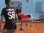 Bellucci perde chance, quebra raquete e é eliminado na estreia de Madri