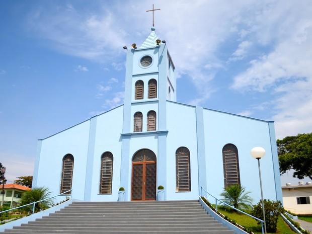 Paróquia de São José de Tupi em Piracicaba (Foto: Divulgação/Paróquia de São José de Tupi)