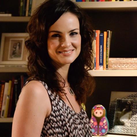 carolina Kasting será enfermeira em novela das 21h (Foto: Raphael Dias/TV Globo)
