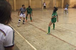 srt x veneza futsal feminino acre (Foto: Reprodução/TV Acre)