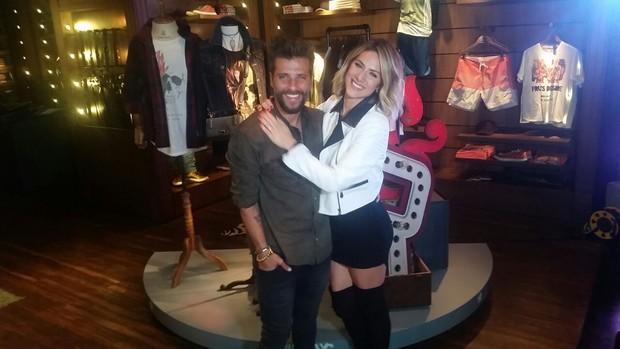 Giovanna Ewbank e Bruno Gagliasso (Foto: EGO)