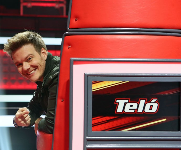 Michel Teló se está ansioso para sua estreia como técnico da quarta temporada do The Voice Brasil (Foto: Isabella Pinheiro/Gshow)