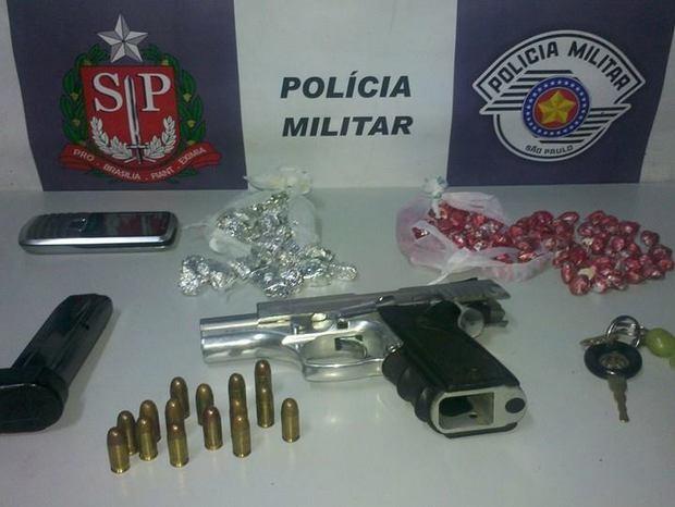 Autonômo é com arma de agente penitenciário morto em Piracicaba (Foto: Valter Martins/Piracicaba em Alerta)