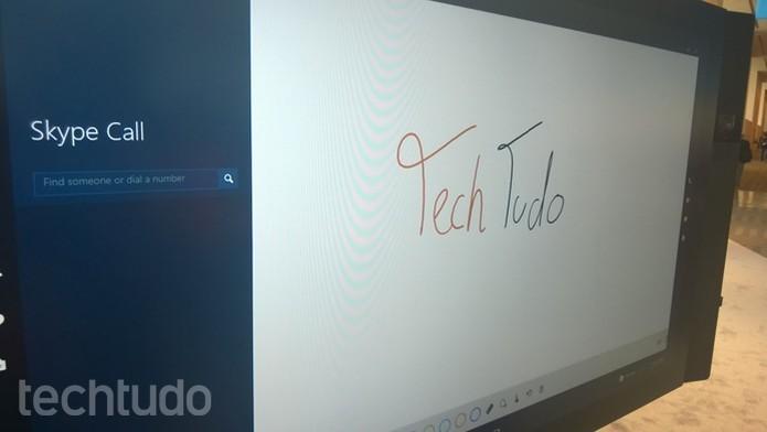 Surface Hub é o mais caro disparado (Foto: Elson Junior/TechTudo)