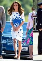 Kate Middleton vai a evento oficial e repete vestido usado há dois anos