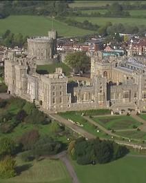 Casamento real no castelo