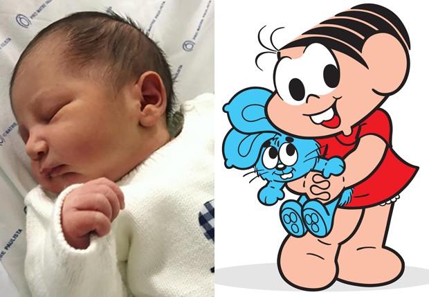 Marcos, filho de Marcos Saraiva e neto de Monica Sousa (Foto: Reprodução)