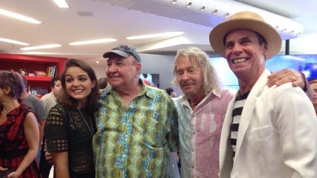 Maria Luiza, João Donato, Marcos Vale e Carlinhos de Jesus são atrações da Rock Street (Foto: Carolina Caldas / Gshow)
