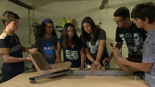 Estudantes de São Gonçalo, RJ, fazem vaquinha para competir na Nasa, nos Estados Unidos