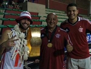 Gegê, Chupeta e Douglas (Foto: Fabio Leme)