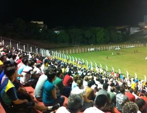 Torcida do Aracruz no Estádio do Bambu (Foto: Alice Sagrillo Scarpati/EC Aracruz)