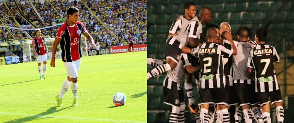 O JEC ocupa a terceira colocação na tabela e o Figueirense, a primeira (Foto: Assessoria/Joinville EC/Luiz Henrique/ Figueirense FC)