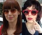 Mel Lisboa antes e depois | Divulgação/Arquivo pessoal