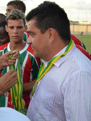 Fernando Dourado assume o Lagarto (Foto: João Áquila, GLOBOESPORTE.COM)
