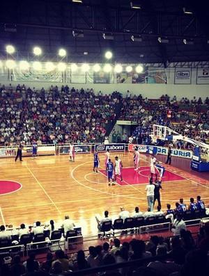 Bauru x Limeira - Paulista de basquete (Foto: Divulgação/Bauru Basket)