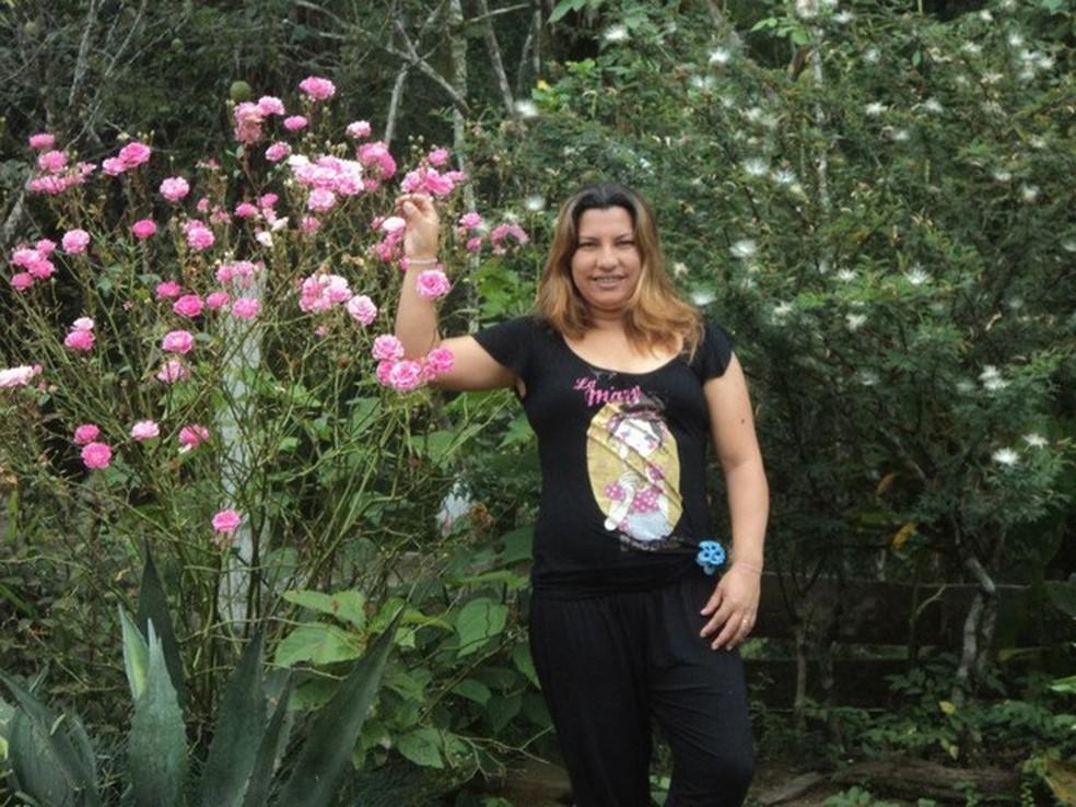 A copeira Rosária Miranda foi morta na confraternização da empresa em que trabalhava (Foto: Arquivo pessoal)