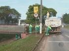 Chuva forte deixa dois pontos de alagamentos em Valinhos, SP