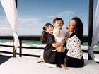 Mãe de dois, Amanda Lee não quer mais filhos: 'O time está perfeito'
