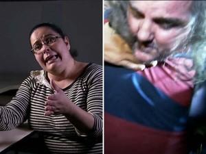 Advogada e publicitário são acusados de matar zelador (Foto: Reprodução/TV Globo)