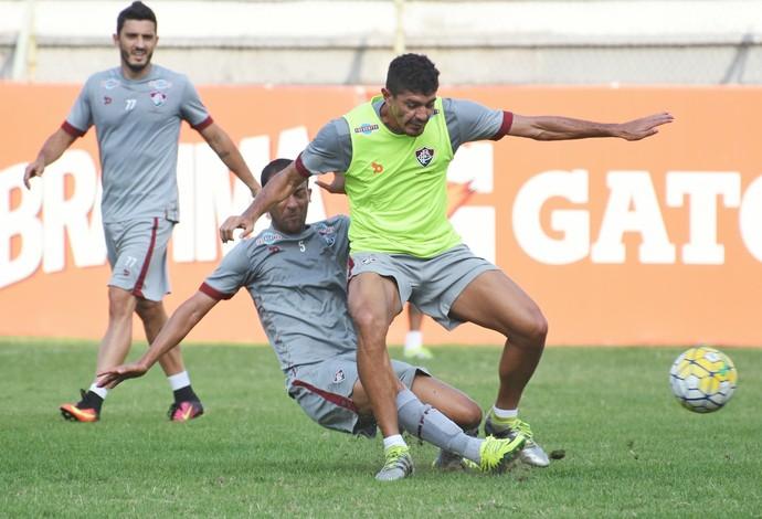 Edson, Fluminense (Foto: MAILSON SANTANA/FLUMINENSE FC)