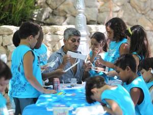 Crianças da Região Serrana contam com colônia de férias (Foto: Divulgação/Sesc Rio)