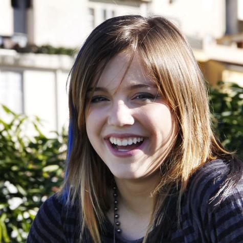 Alice Wegmann como Lia, em 'Malhação' (Foto: TV Globo)