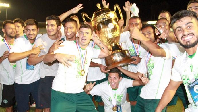 Goiás - campeão goiano (Foto: Rosiron Rodrigues / Goiás E.C.)