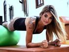 Com 14kg a menos, Kelly Key mostra aula de pilates: 'Estou na melhor fase'
