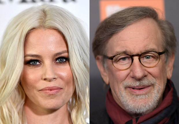 Elizabeth Banks e Steven Spielberg (Foto: Getty Images)