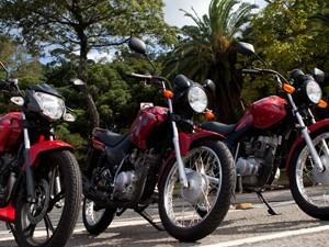 Honda; CG; 125; Fan; Dafra; Riva; 150; Yamaha; YBR; 125; Factor; Comparativo; titan; teste; avaliação (Foto: Caio Kenji / G1)