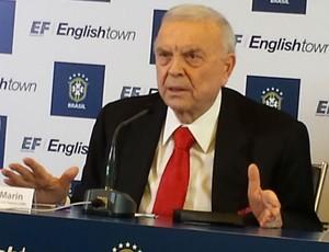 José Maria Marin, presidente da CBF