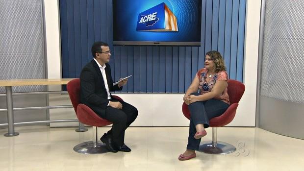 Fonoaudióloga esclarece dúvidas (Foto: Acre TV)