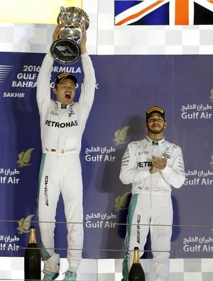 Nico Rosberg, Lewis Hamilton, GP do Bahrein, Fórmula 1