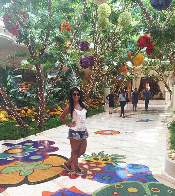 amanda vegas 8 bbb  (Foto: Arquivo Pessoal)