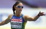 Tudo sobre Franciela Krasucki, velocista brasileira dos 100m e 200m. Clique (EFE)