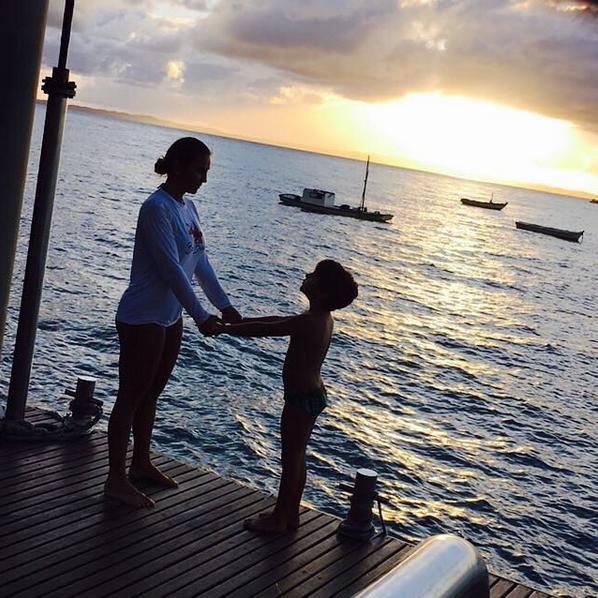 Ivete Sangalo e o filho, Marcelo (Foto: Reprodução/Instagram)