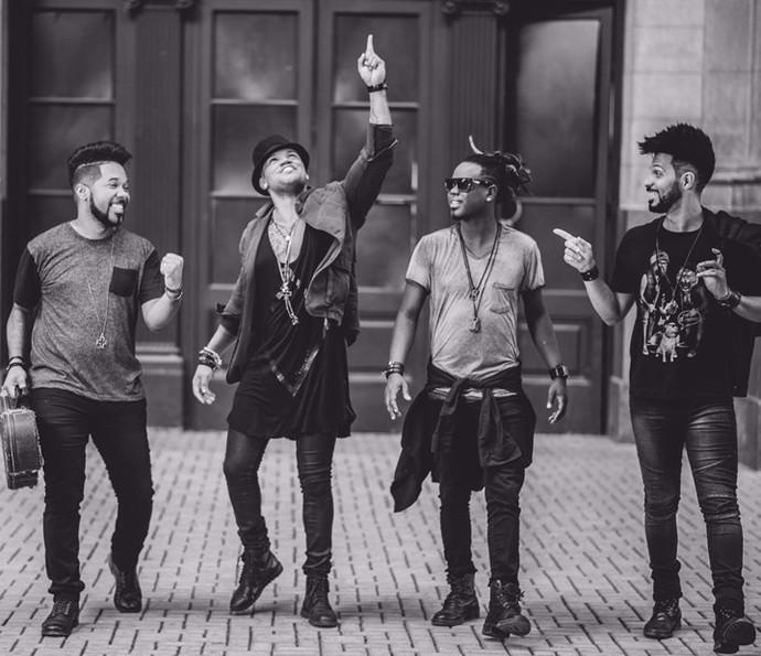 O Nosso Sentimento já está em estúdio gravando um novo álbum (Foto: Jackson Martins/Flash2Rec )