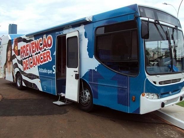 Carreta do Hospital de Câncer estará em Bebedouro até o dia 29 de maio (Foto: Anderson Marques/Hospital de Câncer)