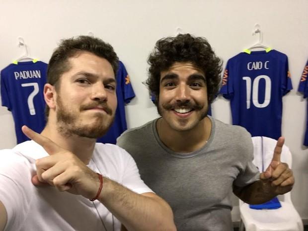 Caio Paduan e Caio Castro (Foto: Divulgação)