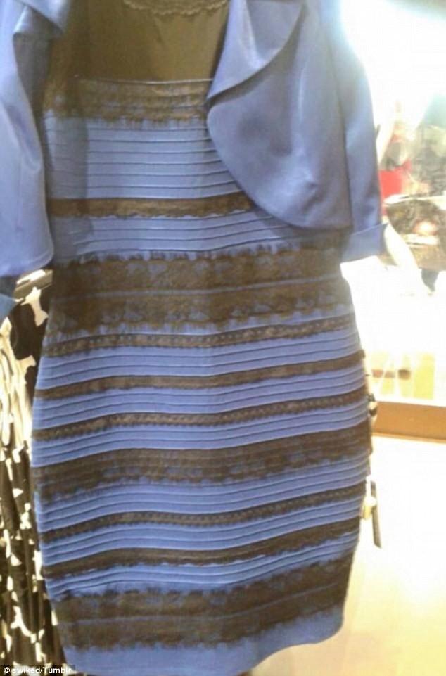 O novo vestido azul e preto (ou branco e dourado)? Veja nova foto que cria ilusão de ótica bizarra
