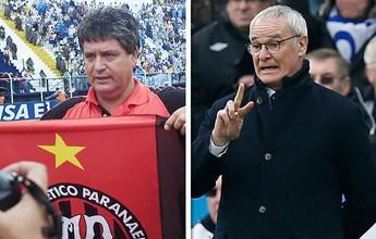 Lista aponta coincidências entre títulos do Atlético-PR em 2001 e do Leicester