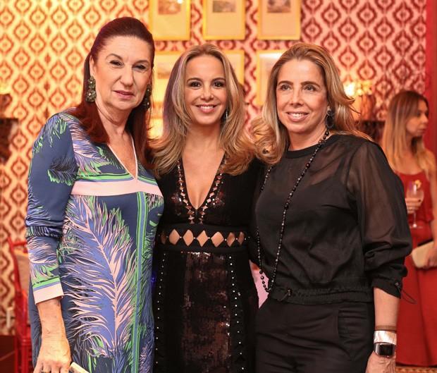 Mirela Machado, Larissa Bicalho e Eliane Carvalho (Foto: Divulgação)