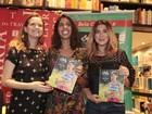 Bela Gil lança segundo livro de receitas com noite de autógrafos