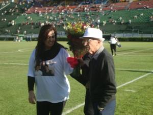 Presidente Myriam Foruna e o vice presidente Geraldo Magela Tavares (Foto: Bruno Ribeiro)
