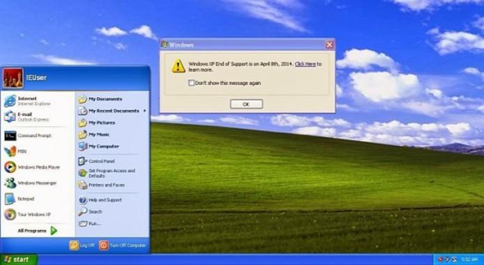 Depois do fim do suporte, Windows XP se tornou alvo ainda mais recorrente de hackers (Foto: Reprodução)
