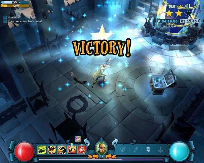 O principal objetivo desta modalidade do game é alcançar as salas de tesouro (Foto: Reprodução/Daniel Ribeiro)