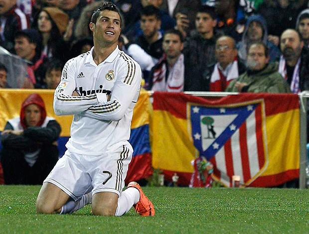 Cristiano Ronaldo - Atletico de Madri x Real Madrid (Foto: EFE)