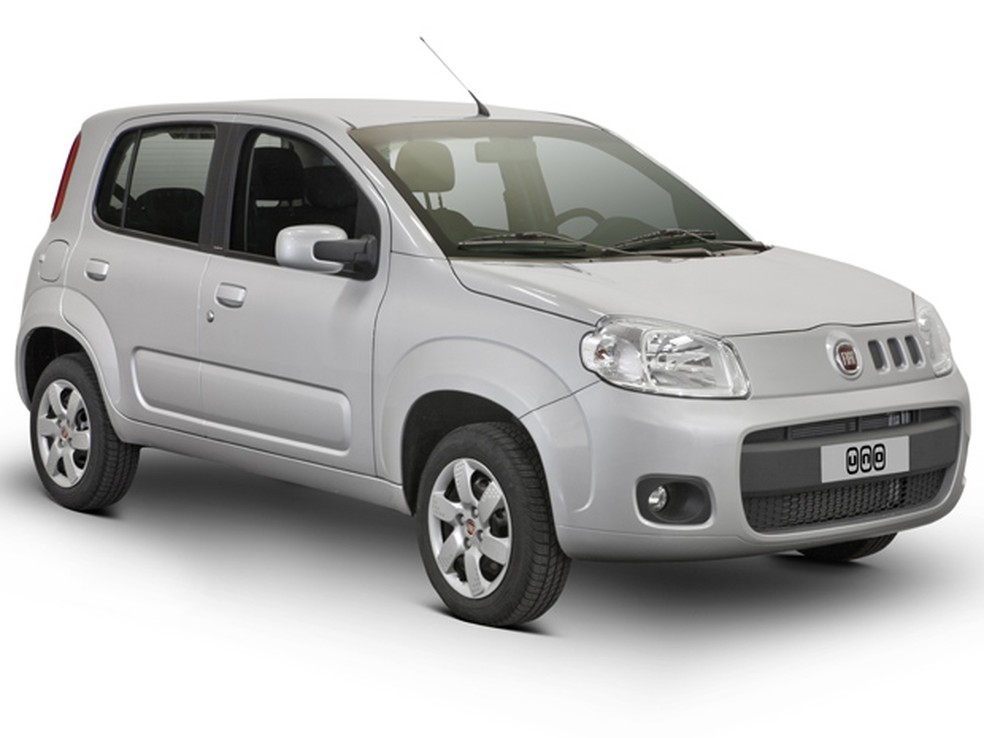 Fiat Uno Economy tem novas calotas (Foto: Divulgação)