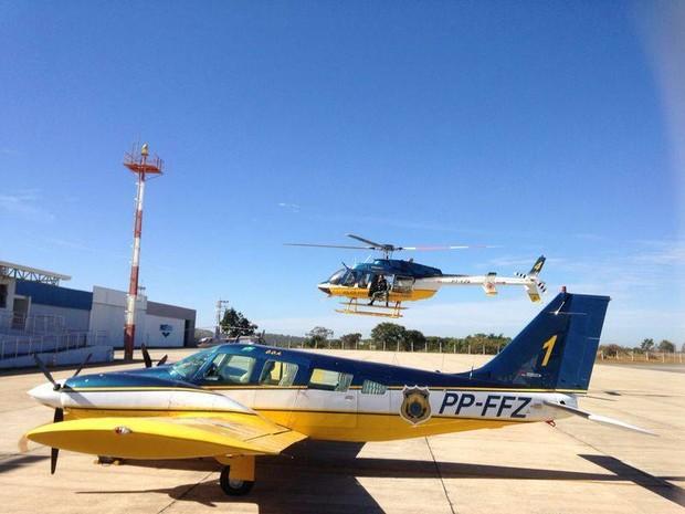 Treinamento para resgates aéreos é realizado em Divinópolis (Foto: Júlio/Divulgação)