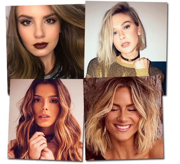 Famosas com cabelos incriveis (Foto: Reprodução / Instagram)
